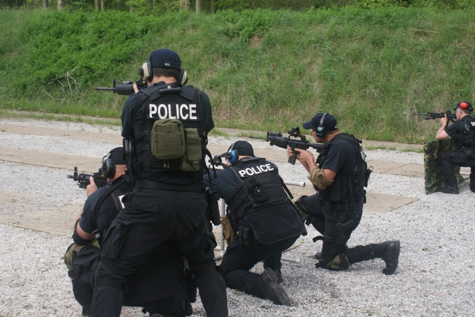 TACTICAL TEAM RANGE DRILLS