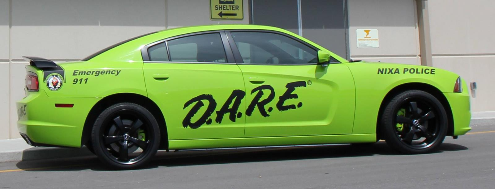 PICTURE OF DARE  CAR