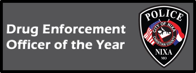DRUG ENFORCEMENT OFFICER OF THE YEAR