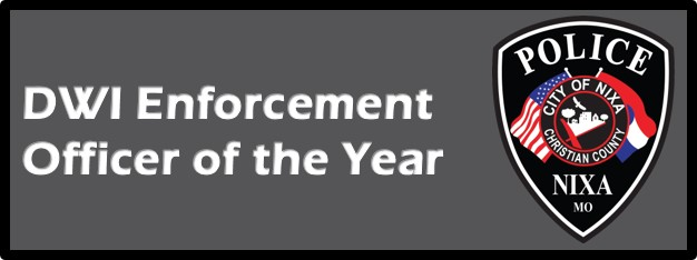 DWI ENFORCEMENT OFFICER OF THE YEAR