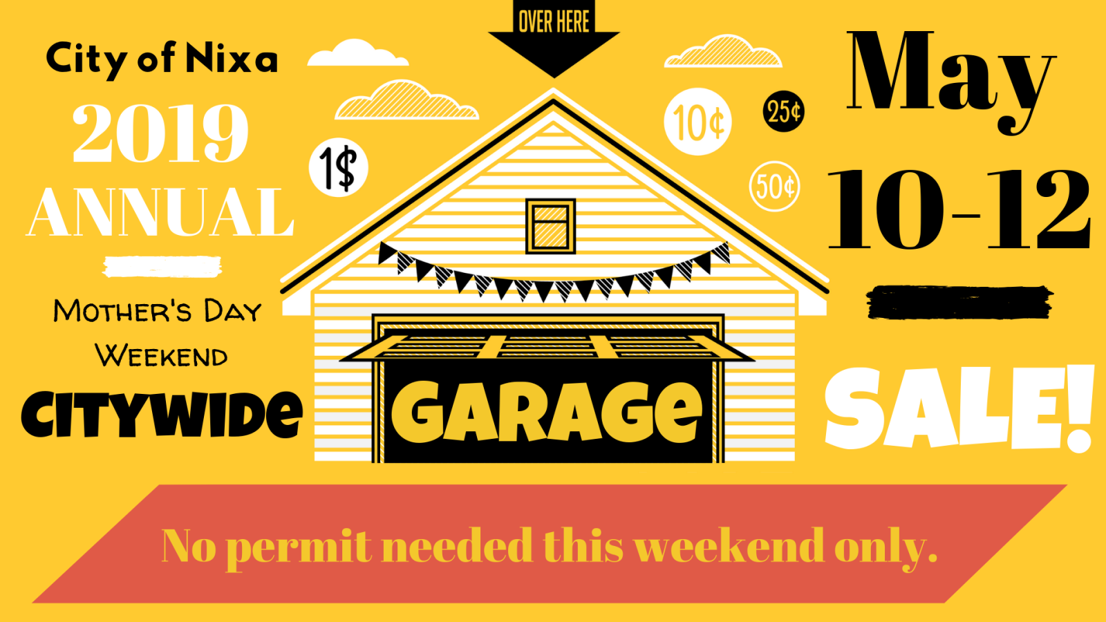 2019 Citywide Garage Sale